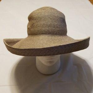 Eric Javits sun shade straw hat